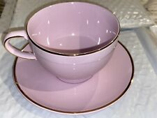 Telefora Gift Vintage Pink & Gold  China Tea Cup & Saucer Set