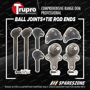 Trupro Ball Joint Tie Rod End Kit for Toyota Hilux LN RN YN 85 LN86 RN90 Utility
