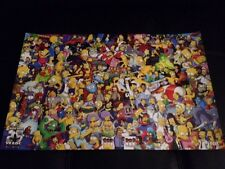"SDCC 2014 THE SIMPSONS 25 YEARS POSTER 11""x17"" EXCLUSIVE FOX BART HOMER MARGE"