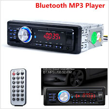 12V Car In-Dash Bluetooth Stereo Audio MP3 Player FM Radio WMA USB/SD/AUX Remote
