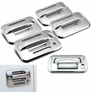 Fits 2004-2014 Ford F150 Chrome 4 Door (With Key Pad) + Tailgate Handle Covers