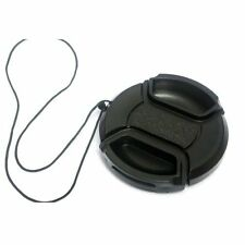 Brand New 55mm Snap-on Lens Cap Cover with Cord for NIKON Camera wd