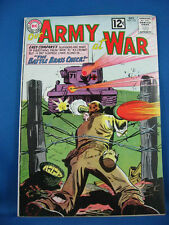 OUR ARMY AT WAR SGT ROCK 123 Fine 1962