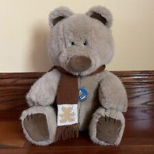 Vintage 1980s Dakin Brown Teddy Bear Stuffed Animal Plush Toy 1984, Nwt