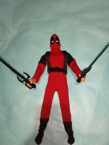 DEADPOOL CLOTHING SET FOR KEN MAXSTEEL HOTTOYS AND OTHER MALE BODIES 1/6