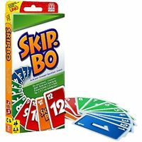 Skip-bo Card Game By Mattel  Brand New Card Game Same Day Shipping For Free UK