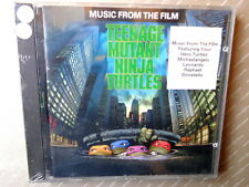 TEENAGE MUTANT NINJA TURTLES -  MUSIC FROM THE FILM -  CD1990  NUOVO E SIGILLATO