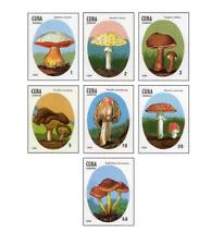 KUB8801 Poisonous mushrooms 7 pcs MNH 1988