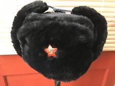 Genuine Russian Soviet Trapper Cossack Military Ushanka Winter Hat 73e44c250f8d