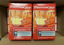 (24) ThermaCare Heat Wraps Lower Back and Hip Size L-XL