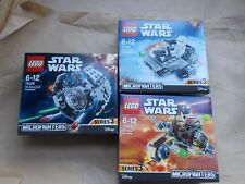 NEW LEGO STAR WARS DISNEY 3 SETS MICROFIGHTERS SERIES 3 BOXED 75126 75128 75129