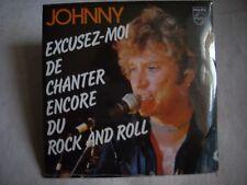CD single Johnny Hallyday EXCUSEZ MOI DE CHANTER ENCORE DU ROCK AND ROLL-Neuf