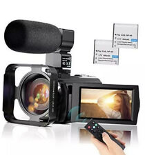 Video Camera Camcorder YouTube Vlogging Camera FHD 1080P 30FPS 24MP 16X