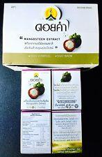 NEW DOI KHAM MANGOSTEEN FRUIT JUICE ROYAL PROJECT Thailand 45 ml x 2 BOTTLES