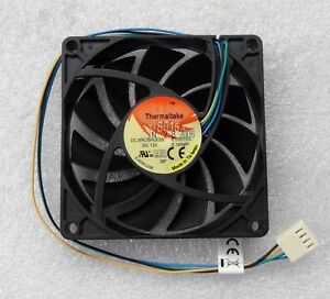 Thermaltake 80mm x 15mm Slim Quiet CPU Fan 4 Pin PWM 80x15mm TT-8015A