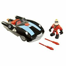 Disney Pixar Incredibles 2 Junior Supers Vehicle - Incredible Car Mr.Incredibl