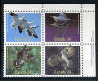 Kanada MiNr. 995-98 postfrisch MNH Vögel (Vög1644