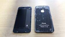 4 X Nuevo Genuino Original Apple Iphone 4 Negro Trasera Batería Tapa Faja