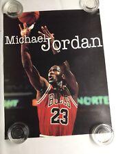 Vintage Michael Jordan Jump Shot Basketball Poster