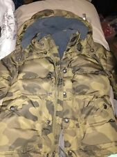 Baby Gap Puffer Camo Coat Jacket 5year
