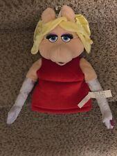 Jim Henson Muppets MISS PIGGY Hand PUPPETS FAO Schwarz Toys R US Plush