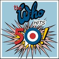 THE WHO (2 CD) THE WHO HITS 50 ~ GREATEST / BEST OF ~ PETE TOWNSEND *NEW*