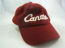 83d111f93ac71 Roots Canada Olympic Hat Low Profile Small Burgundy Strapback Baseball Cap