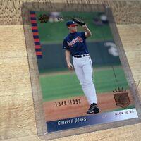 2003 Upper Deck SP /1993 Chipper Jones #127 MLB Atlanta Braves Card