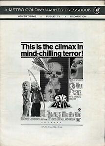 EYE OF THE DEVIL • Sharon Tate, D. Kerr • 1967 • M-G-M • Uncut • +2-color Herald