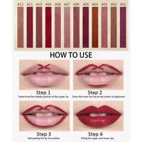 Makeup Matte Lipstick Waterproof Long Lasting Moisturizing Lip Gloss 12 Colors