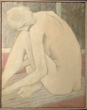 SEATED NUDE WITH TREES BY WINONA CRAWFORD