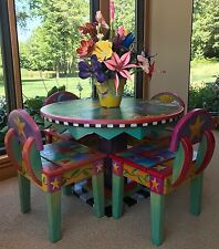 Custom Sticks Childrens Nursery Rhyme table and 4 chairs