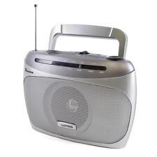 Lloytron N2406 Silver Benidorm 2 Band AM/FM Portable Radio Telescopic Antenna