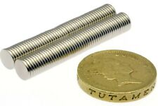 """Super Strong Magnets 1/4"""" x 1/32"""" Thin Small Powerful * 240g PULL * Disc 6mm 1mm"""
