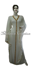 Night Wear Lowest Price Kaftan Abaya Farasha Very Fancy bell Sleeve Bridal Wear