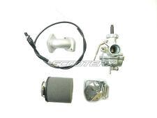 Honda 70cc Mini Dirt Pit Bike HP Carburetor Intake Air Filter Kit Throttle NEW