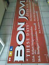 BON JOVI  1996  orig. CONCERT - KONZERT - Poster 236 x 84 cm  RIESEN POSTER