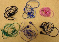 batch of 6 malfunctioning jvc earbud headphones