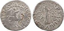 Empire Scythe, Azès II (35-5 av J-C), tétradrachme, Taxila - 97