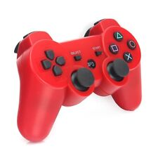 Red PS3 Wireless Bluetooth Double Shock Vibration Remote Console Controller AU