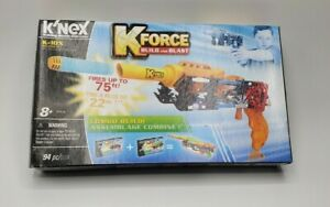 Knex KForce Build and Blast K-10x Gun K'nex 94pc new