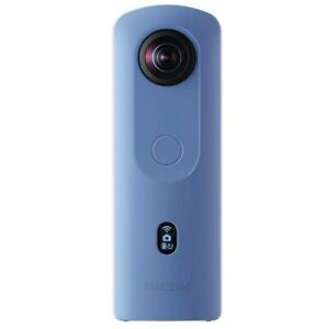 Ricoh THETA SC2 4K 360 Spherical Camera Blue Night Mode 14GB Memory
