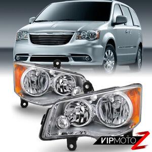 11-17 Dodge Grand Caravan 08-16 Chrysler Town&CountryReplacement Headlight Lamp