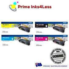 Any 4x Colour Genuine Brother Toner TN341BK TN341C TN341Y TN341M For L8850CDW