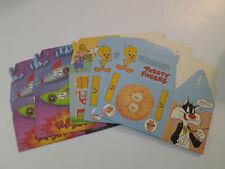 Vintage 1987 Arby's Adventure Meal Boxes-5-Looney Tunes-Porky Pig, Tweety...New!