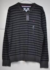 Tommy Hilfiger L V-Neck Regular Size Sweaters for Men