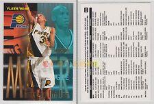 NBA FLEER 1995-1996 SERIES 2 - Reggie Miller, Pacers # 401 - Near Mint