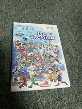 Go Vacation (Nintendo Wii, 2011) Namco CIB