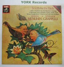 YEHUDI MENUHIN & STEPHANE GRAPPELLI - Strictly For The Birds - Ex LP Record EMI