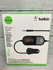 Belkin TuneCast In-Car 3.5mm Aux Audio to FM Transmitter - Smartphones Jack